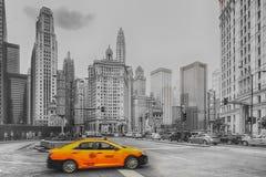 Chicago Wall Art Royalty Free Stock Photos