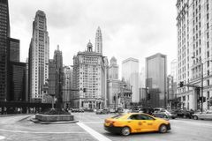 Chicago Wall Art Royalty Free Stock Images