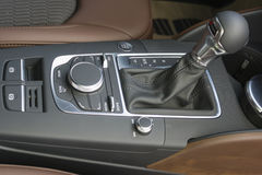 Selector de un engranaje de AutomaticTransmission Fotos de archivo