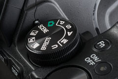 Selector of a digital camera Stock Photo