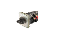 Selector Switch. On white background Royalty Free Stock Photography