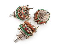 Selector Switch Royalty Free Stock Photo