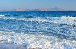 seledynu morze Zdjęcia Royalty Free