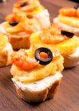 Mini kanapka Obrazy Stock