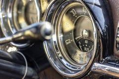 Selektiv fokus på detaljer för inre`-bil arkivfoton
