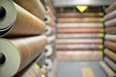 Selektiv fokus på linoleum Abstrakt suddighetsbakgrund av lager f arkivfoto