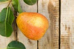 selektivt för nya naturliga pears för bakgrundsfokus moget dof Arkivfoto