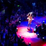 Selena Gomez em seu concerto de Toronto Foto de Stock
