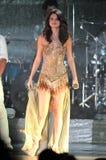 Selena Gomez se realiza en concierto foto de archivo