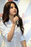 Selena Gomez semblant sous tension. Photo libre de droits