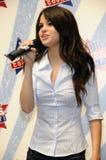 Selena Gomez semblant sous tension. Photos libres de droits