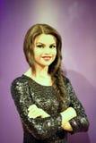 Selena Gomez Wax Figure Lizenzfreie Stockbilder