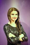 Selena Gomez Wax Figure. Selena Marie Gomez is an American actress and singer. Born and raised in Grand Prairie, Texas. Selena Gomez wax figure is located in Royalty Free Stock Images