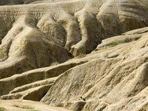 Selenar-Ansicht von Schlamm vulcano - Rumänien Stockfotografie