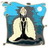 Selene,the moon goddess Royalty Free Stock Photography