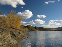 Selenge river, Mongolia Royalty Free Stock Photography