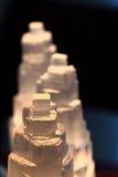 selenite ορυκτή σύσταση Στοκ Φωτογραφία