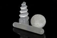 Free Selenite Samples Stock Photo - 61258920