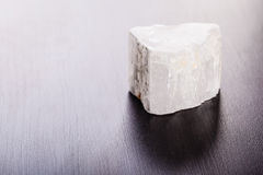 Free Selenite Stone On Wood Royalty Free Stock Photography - 71831487