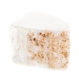 Selenite stone on white Royalty Free Stock Images
