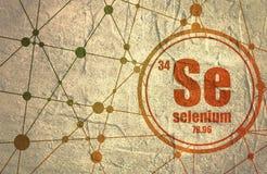 Selenium chemical element. Stock Photography