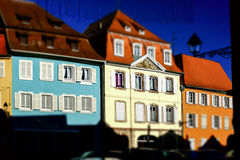Selestat old city street view Stock Photo