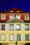 Selestat old city street view Royalty Free Stock Images