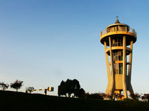 Seletar Reservoir Lookout tower  Royalty Free Stock Photography