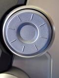 Seletor de prata fotografia de stock