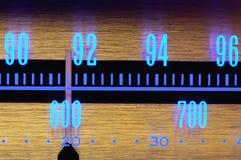 Seletor de rádio imagens de stock