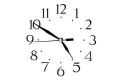 Seletor de relógios clássicos Imagens de Stock