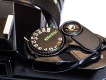 Seletor do isolamento clássico da câmera do filme Imagem de Stock Royalty Free