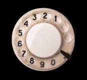 Seletor giratório do telefone Fotografia de Stock Royalty Free