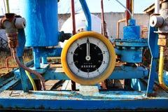 Seletor retro do posto de gasolina Fotos de Stock