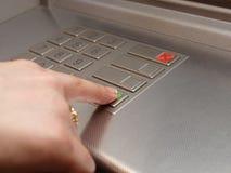 Seletores do ATM Foto de Stock