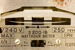 Seletores do medidor elétrico Imagem de Stock Royalty Free