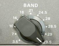 Selettore di frequenza dilettante immagini stock