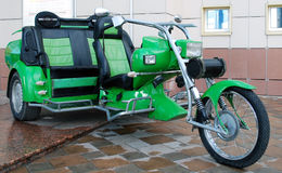 Selettore rotante del triciclo Fotografie Stock Libere da Diritti