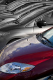 Selezionare il veicolo di destra Fotografie Stock