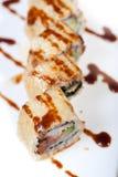 Selezione choice dell'assortimento di miscuglio dei sushi freschi Immagini Stock