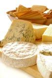 Selezione dei formaggi Fotografia Stock