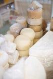 Selezione del formaggio Fotografie Stock Libere da Diritti