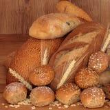 Selezione del pane Fotografia Stock Libera da Diritti