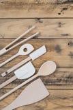 Selezione dell'utensile della cucina Fotografia Stock