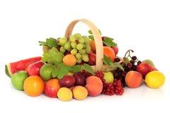Selezione della frutta Fotografie Stock