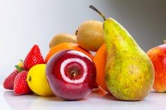 Selezione della frutta fresca Fotografie Stock