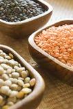 Selezione delle lenticchie Immagine Stock