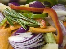 Selezione delle verdure Fotografia Stock