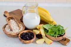 Selezione di alimento che è fot buona ipertensione fotografia stock