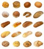 Selezione di Bap e del pane Immagini Stock Libere da Diritti